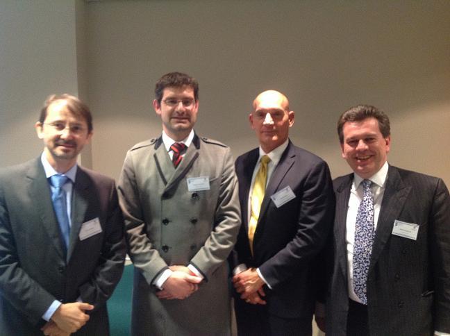 From left: Alexandre Motta, Geo Quinot, Frank Brunetta & Michael Bowsher