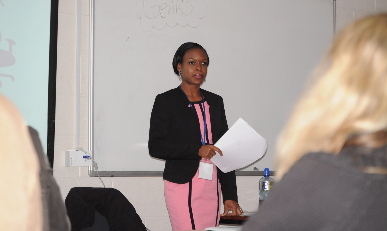 Dr Williams-Elegbe presenting at the 6th IPPC