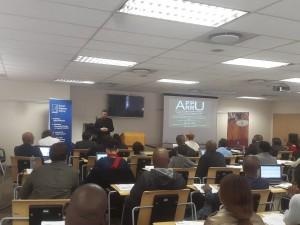Participants at the Pretoria Head Office, 2016.